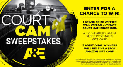Court Cam Sweepstakes - Enter to Win an Ultimate Court Cam Binge-Box