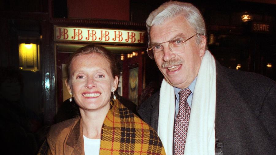 Sophie Toscan du Plantier and husband Daniel Toscan du Plantier