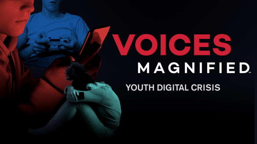 Voices Magnified: Youth Digital Crisis Alt Image