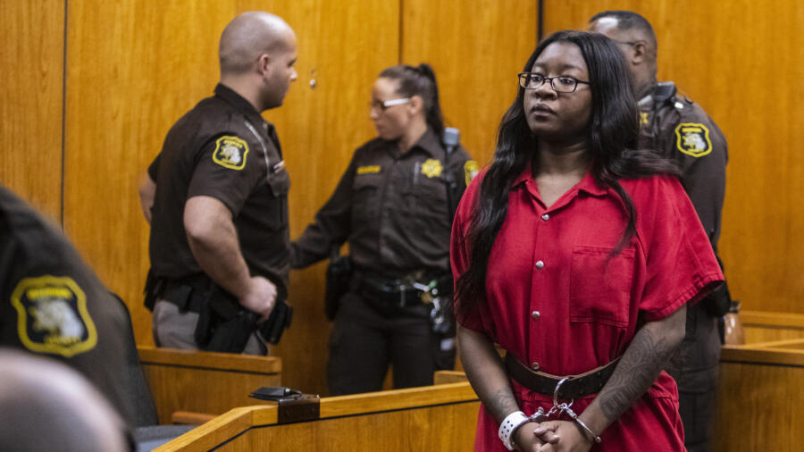 Kemia Hassel in court