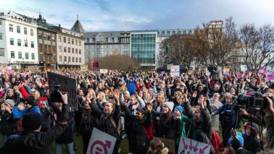This Massive Protest Is The Perfect Response to The Pay Gap