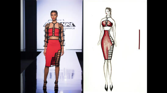 Rene's Project Runway: Junior Season 2, Episode 1 Sketch