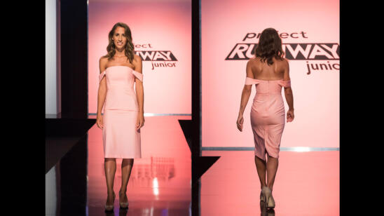 Tieler's Project Runway Junior Season 2, Episode 6 Final Look