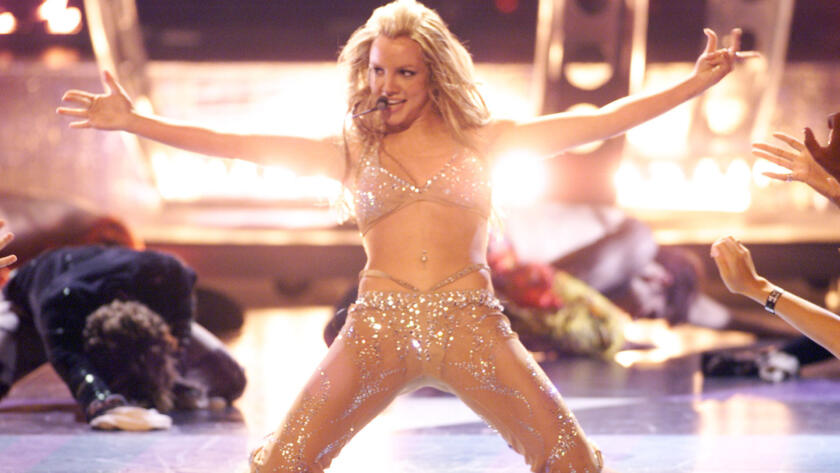 Britney Spears at the 2000 VMAs
