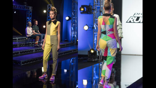 Hawwaa's Project Runway Junior Season 2, Episode 9 Final Look