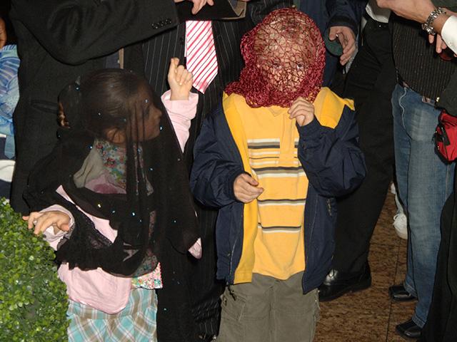 Michael Jackson's children Paris and Prince