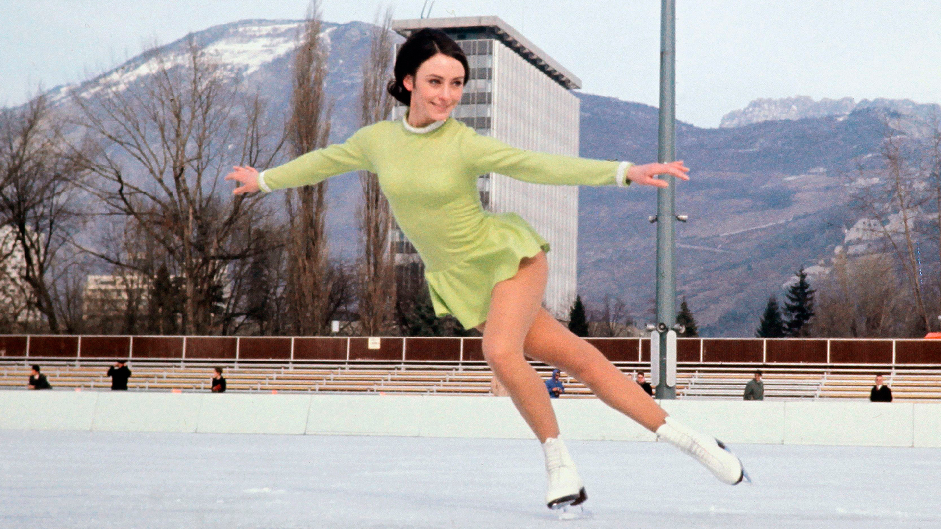 February 10, 1968: Figure Skater Peggy Fleming Won Gold at the Olympic Winter Games