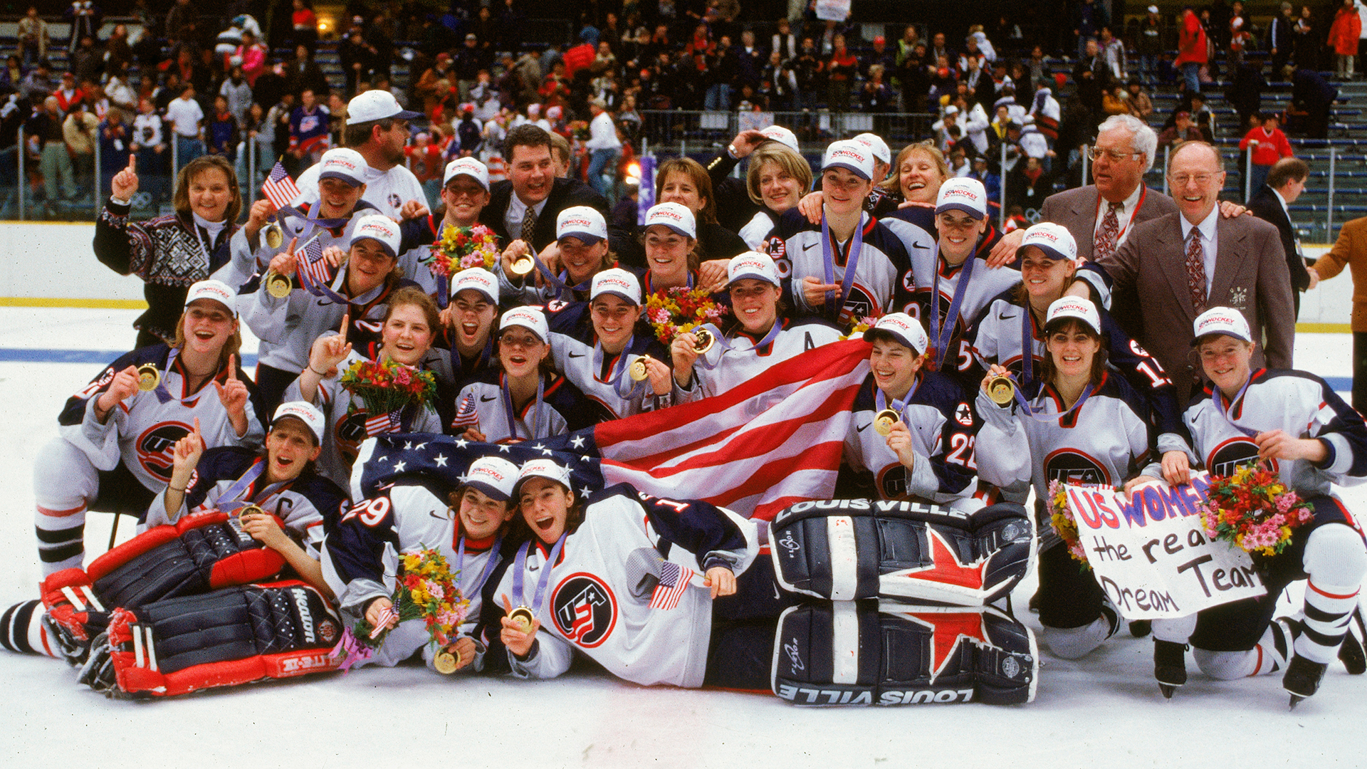 February 17, 1998: Team USA Won the First Olympic Gold Medal in Women's Ice Hockey
