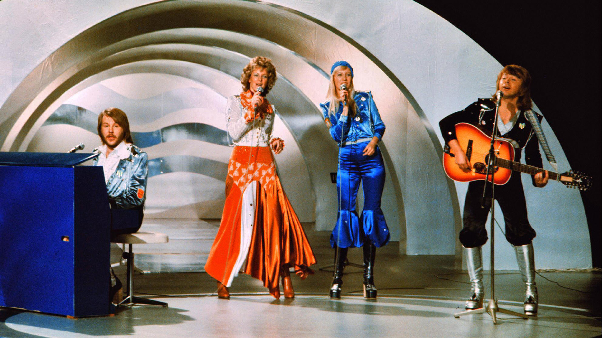 """April 6, 1974: ABBA Won the Eurovision Song Contest for """"Waterloo,"""" Launching Their International Career"""