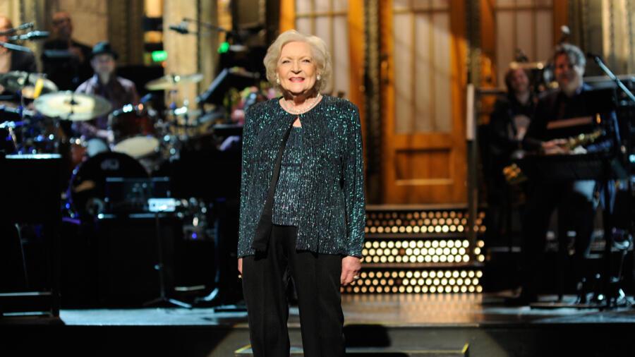 Betty White on SNL