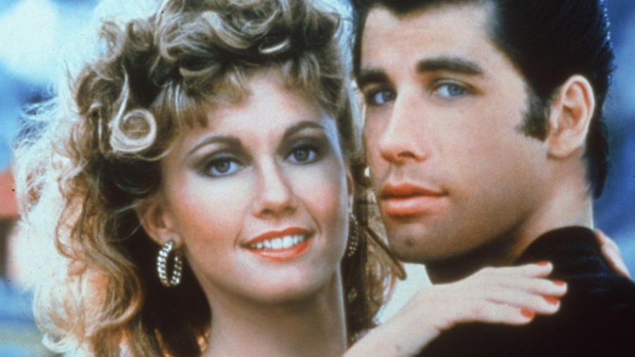 """June 16, 1978: """"Grease,"""" Starring Olivia Newton-John and John Travolta, Was Released in Movie Theaters"""