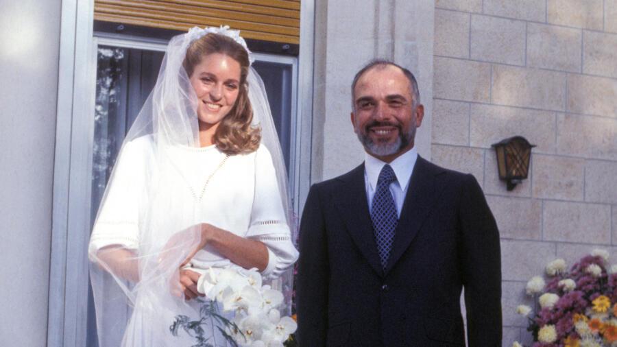 Queen Noor ad King Hussein