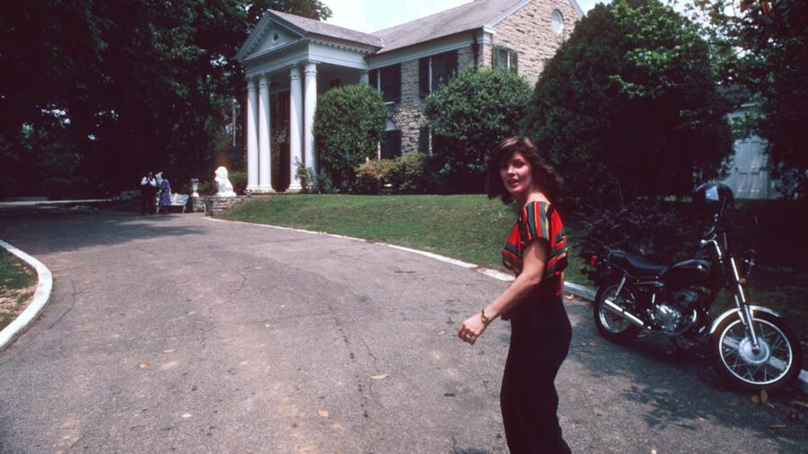 Priscilla Presley at Graceland