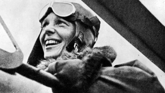 July 24, 1897: Aviation Pioneer Amelia Earhart Was Born