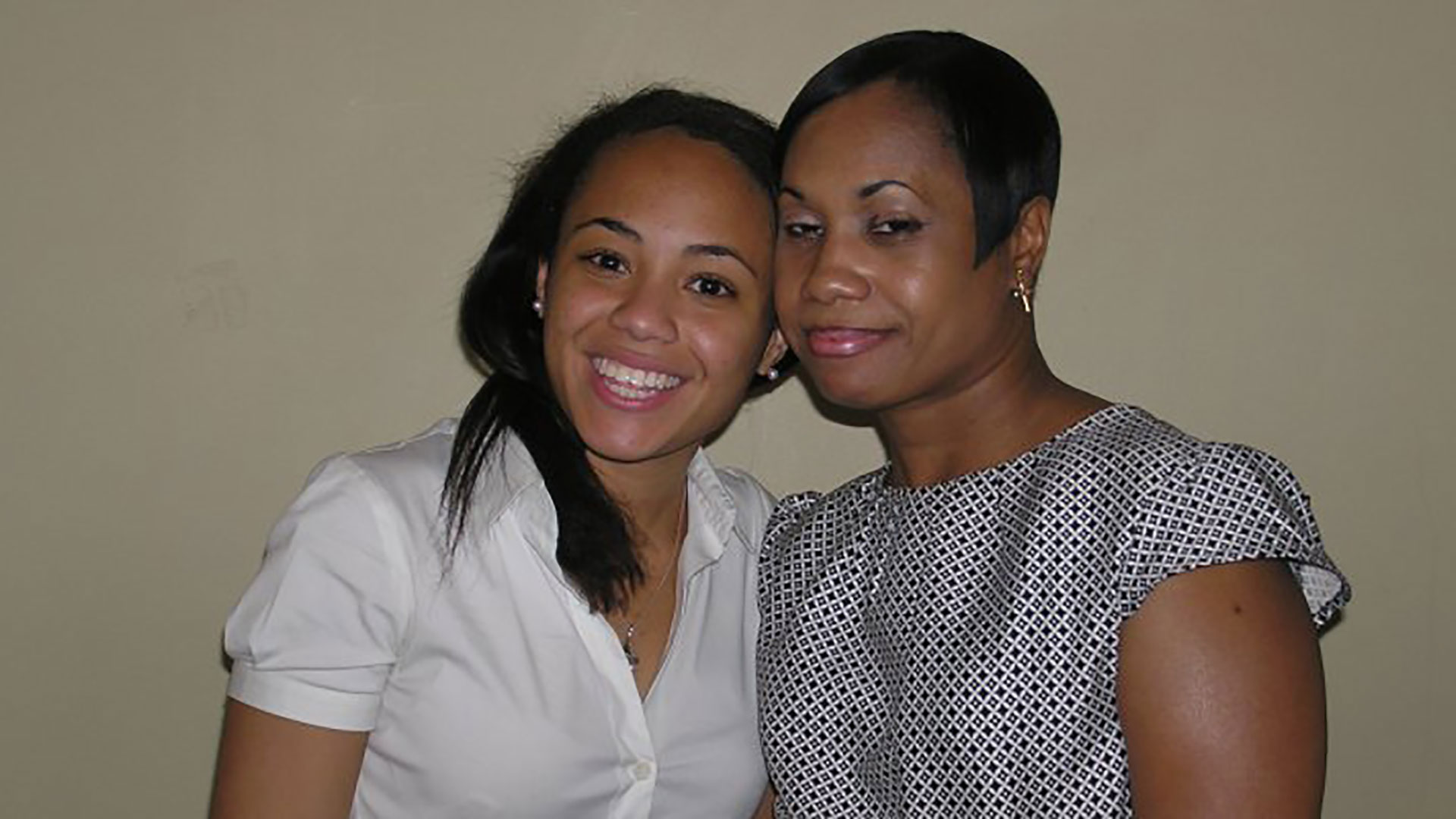 Erika Stallings and Her Mom