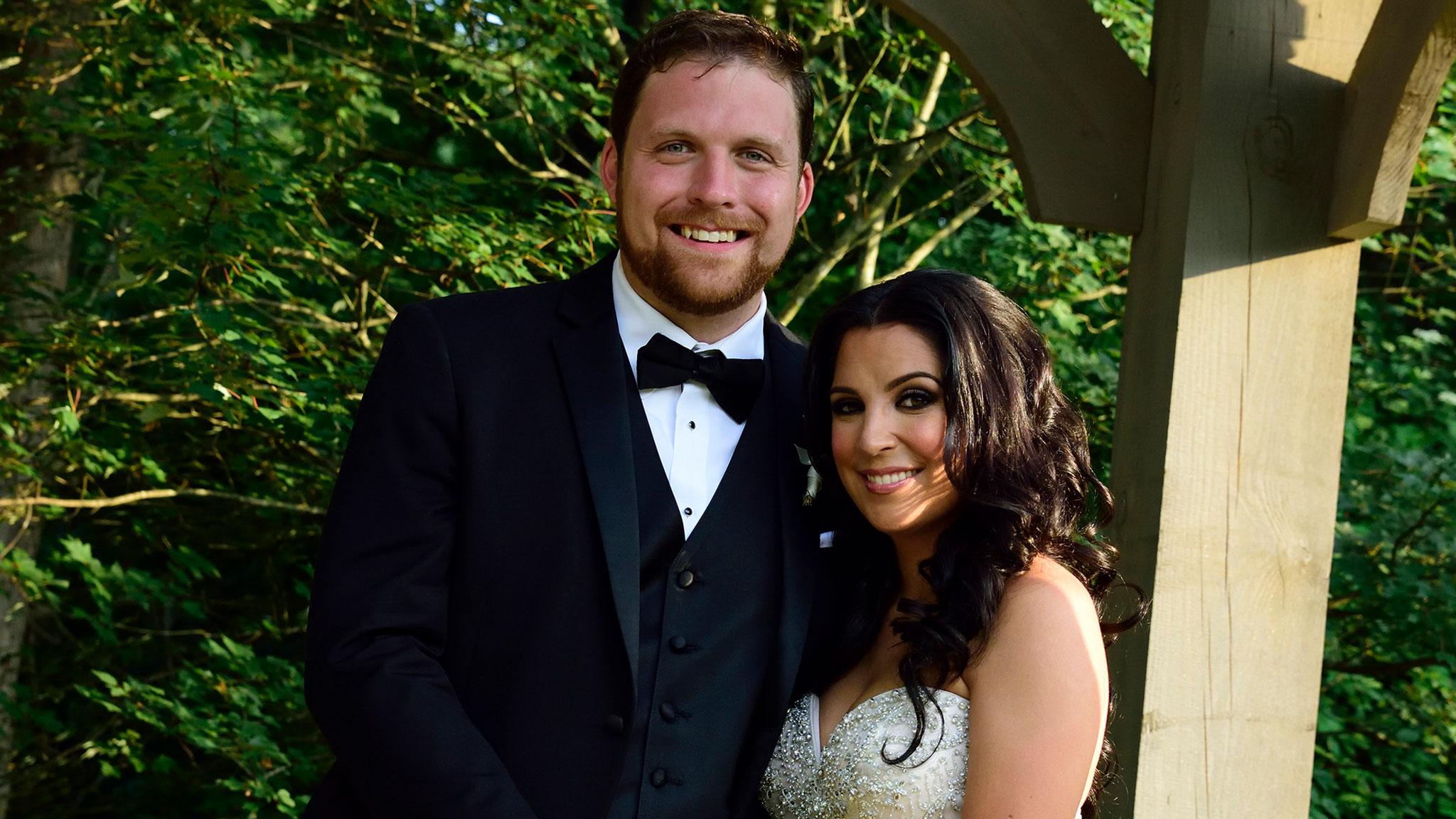 Ashley and David Wedding