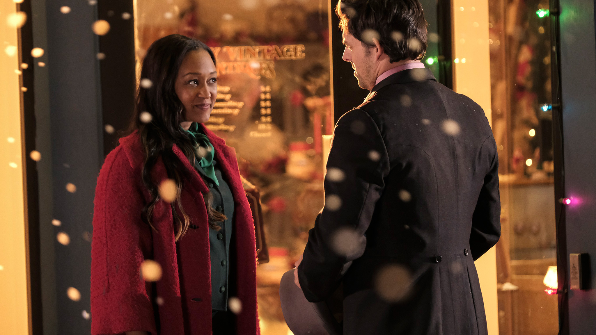 Tia Mowry-Hardrict in A Very Vintage Christmas on Lifetime