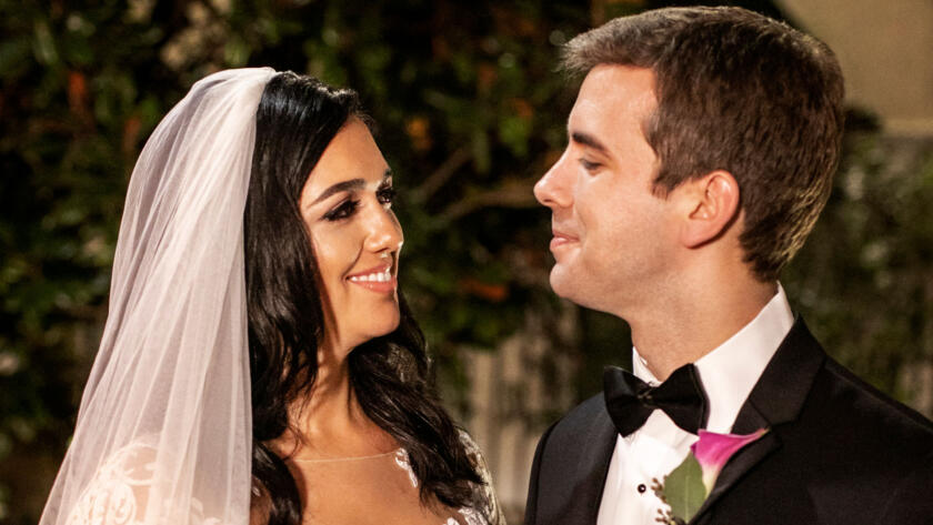 Christina and Henry at their wedding from Season 11 of Married at First Sight.