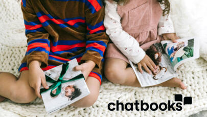 Chatbooks and Lifetime have partnered to bring you the gift of connection