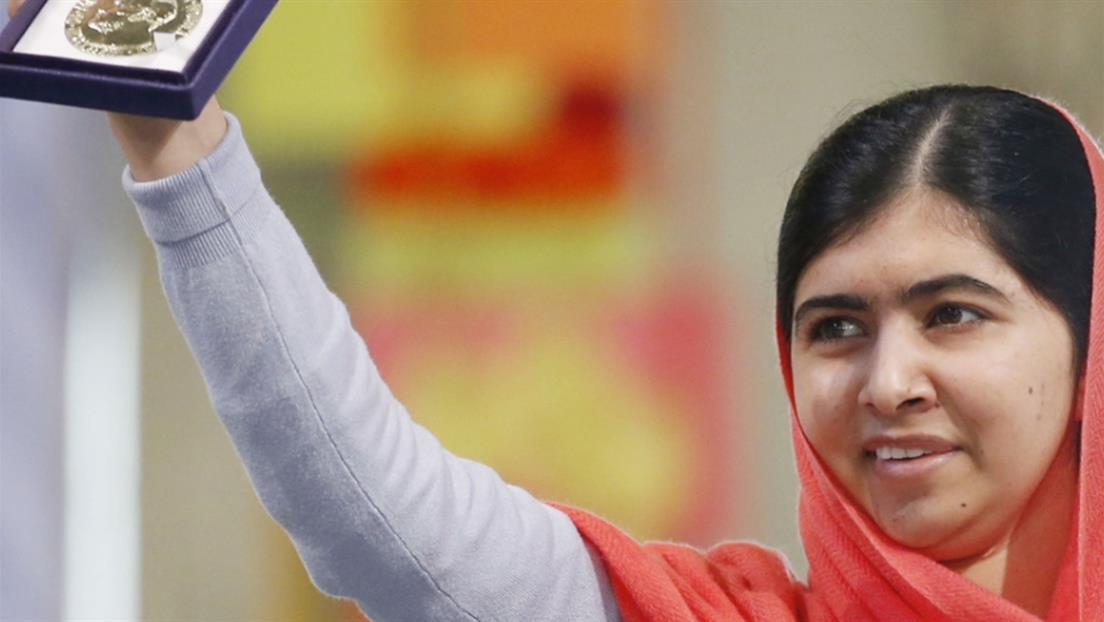 Kristin Davis on Malala Yousafzai