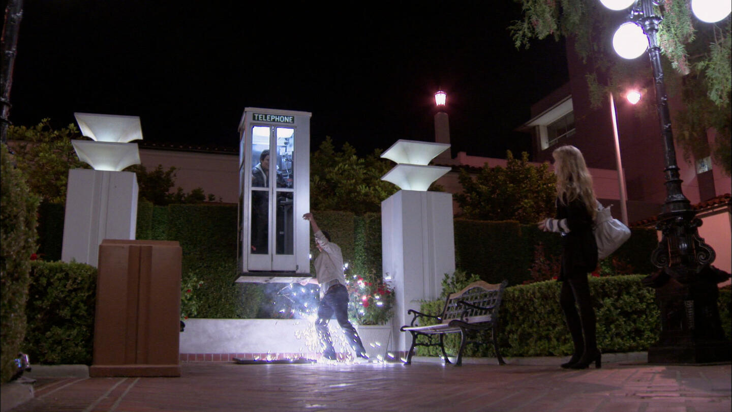 Watch Andrew Levitates A Phone Booth Clip   A&E