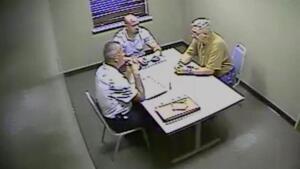 Investigators Interview the Suspect