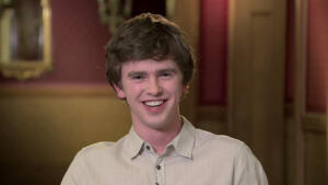Freddie Highmore Has Two Left Feet