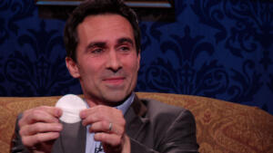 Nestor Carbonell Proves He Is Not Wearing Eyeliner