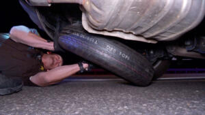 Heroin in a Car Tire