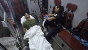 A Stroke Patient's Condition Worsens