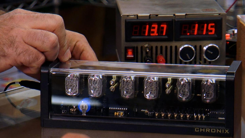 Watch Dave's Nixie Tube Clock Video - Storage Wars   A&E