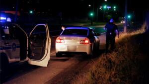 A Fleeing Driver Pulls a Gun