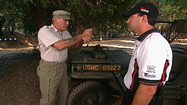 Military Sidearms; Glock Handguns; MG42; WWII British Commando Weapons; Gun Truck Alley