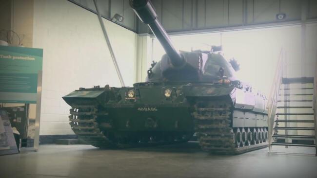 Steel Warriors: The Conqueror Tank