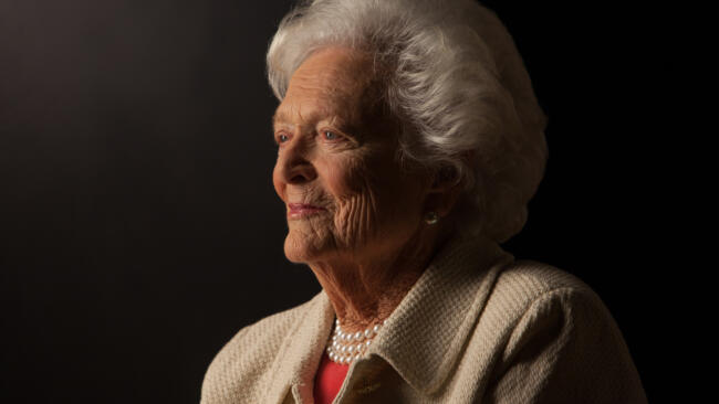 Barbara Bush: First Mom