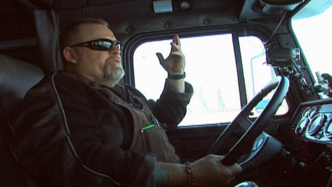 A Trucker's Farewell