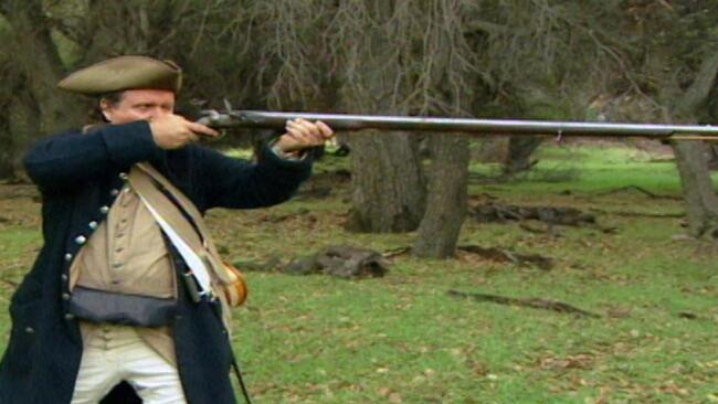 Revolutionary War Musket; Jousting; Foxholes