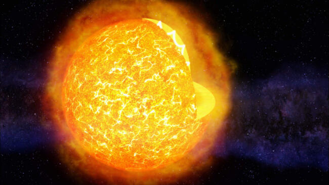 Dark Future of the Sun