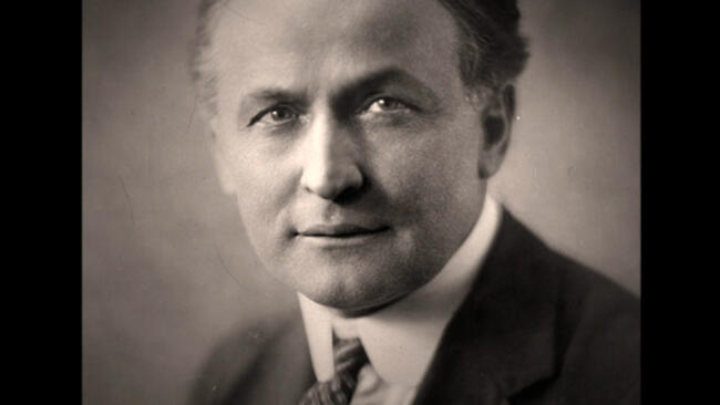 Houdini: Murdered?