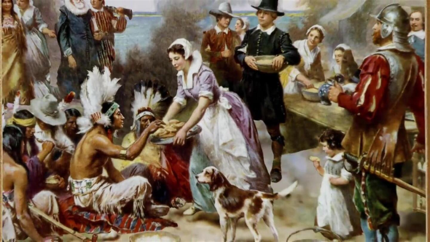 First Thanksgiving Meal - The Food, History & Pilgrims - HISTORY