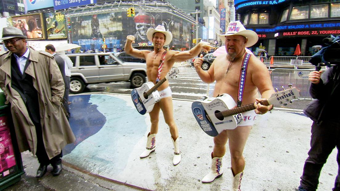 Naked Cowboys & Reptile Wrangling