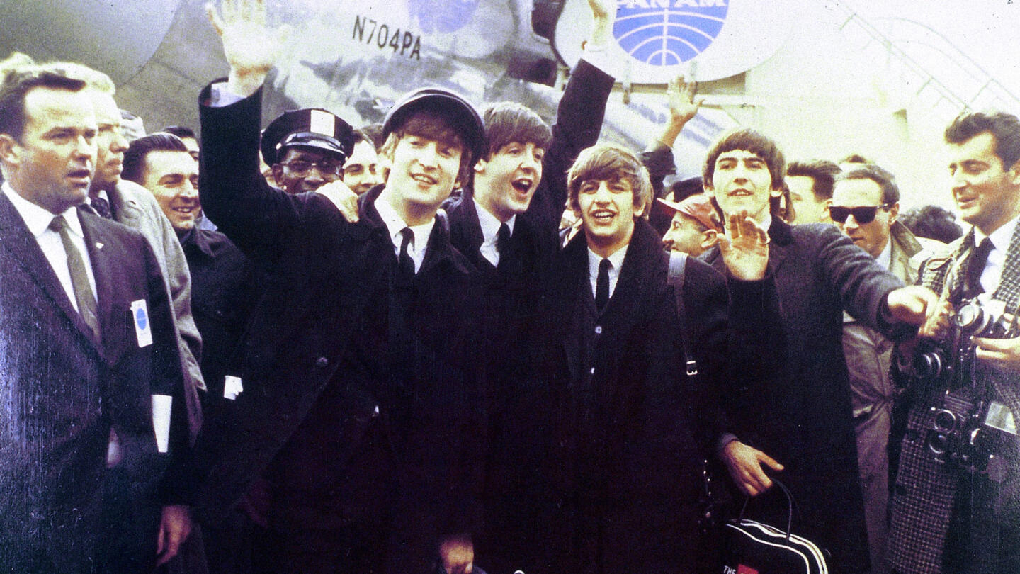 The Beatles Arrive In New York History