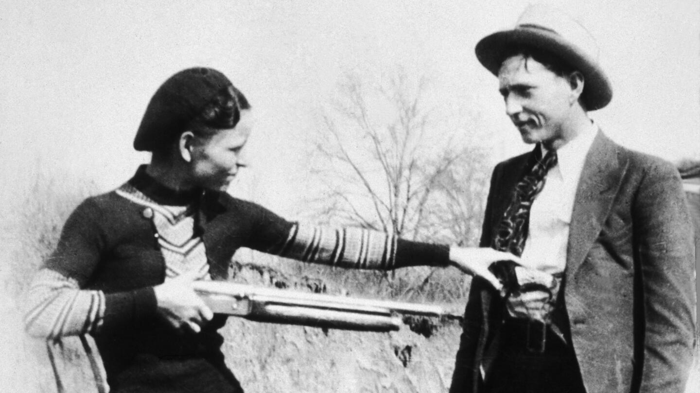 Police kill famous outlaws Bonnie and Clyde - HISTORY