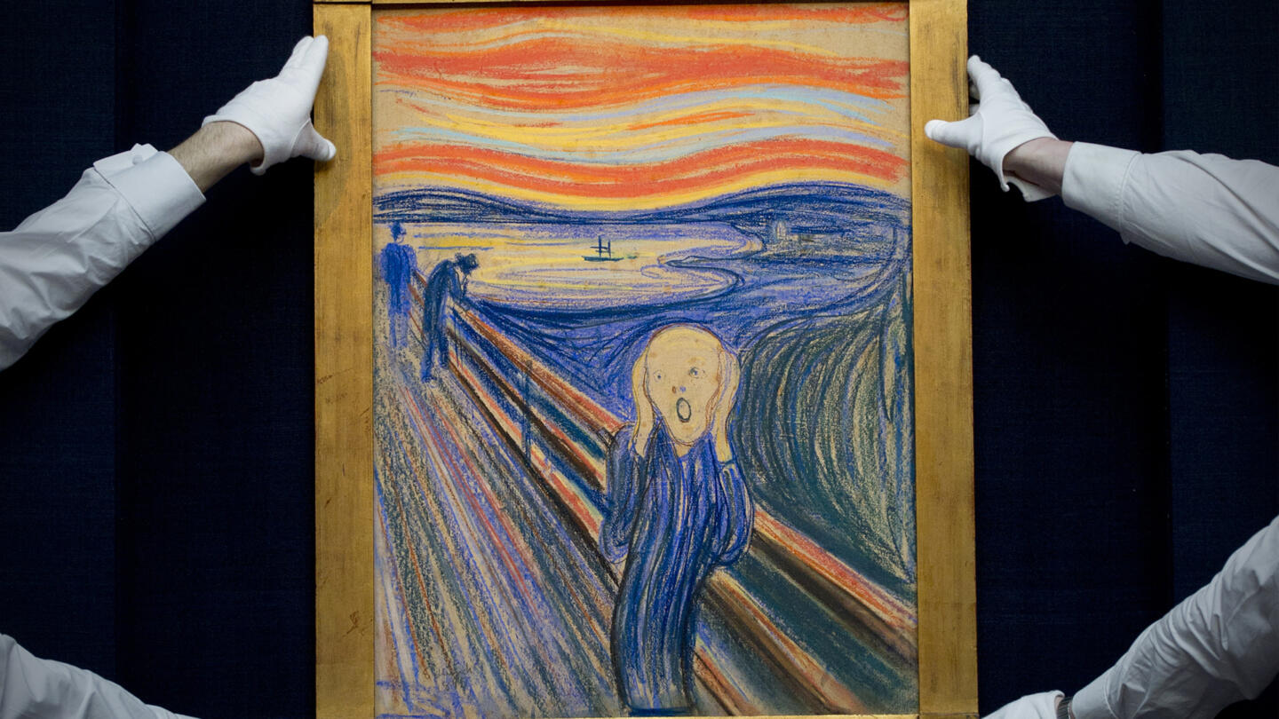 05/07/1915: Munch's The Scream recovered ...