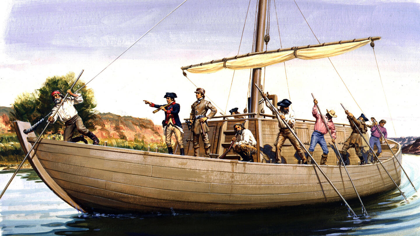 This Day in History: 05/14/1804 - Lewis and Clark Depart - HISTORY