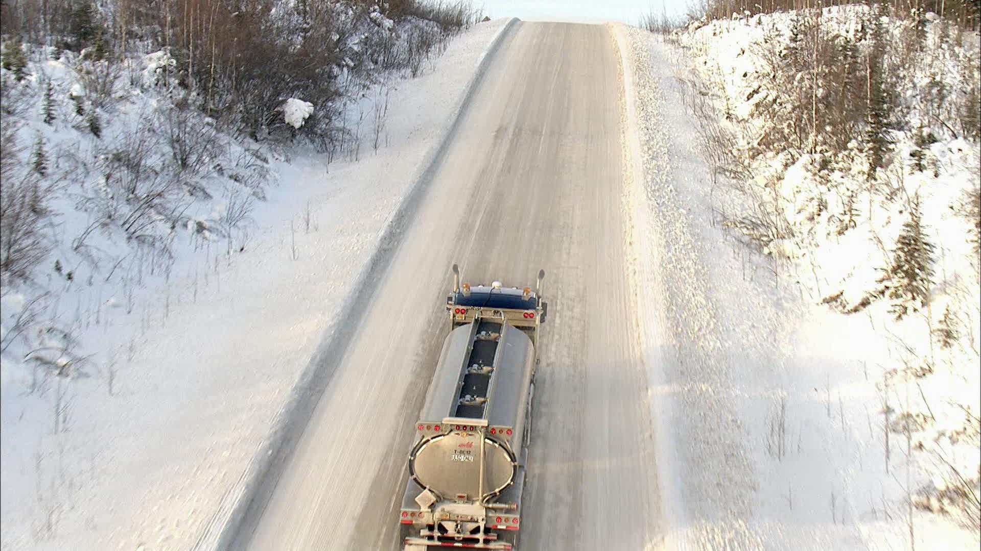 Ice Road Rage