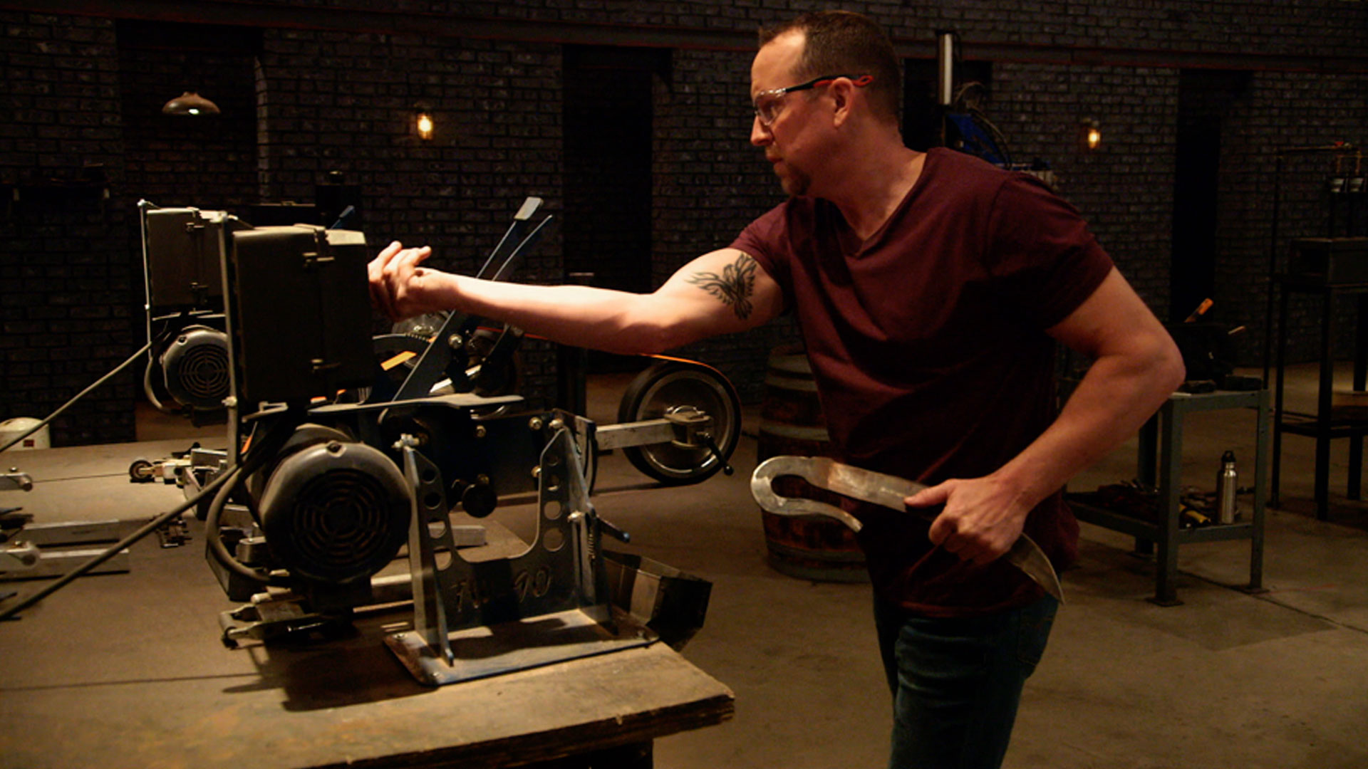 Forged in Fire : Attila's Sword of Mars