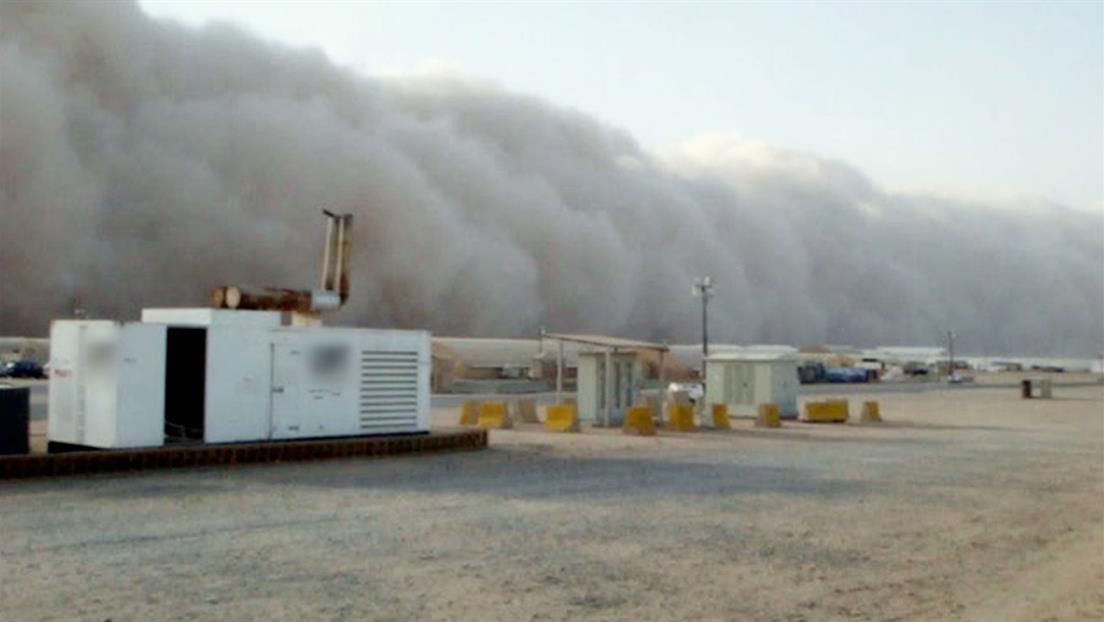 Death by Dust Storm