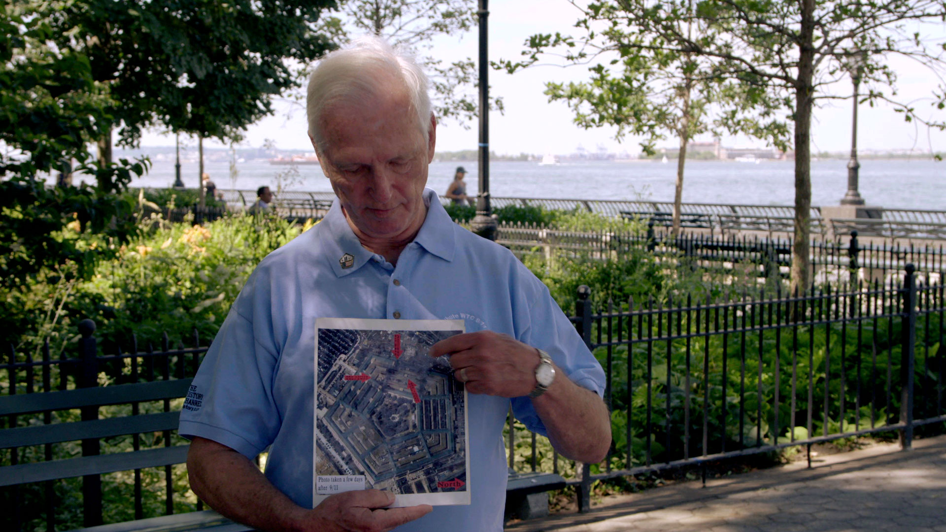 Stories From 9/11: Pentagon Employee Bruce Powers