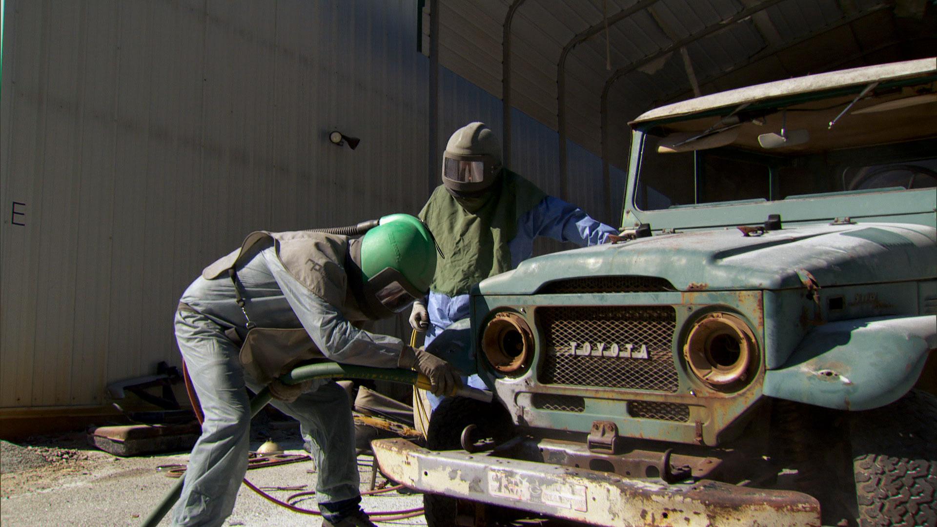 Off Road Rust Bucket